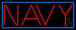 Navy Neon Signs