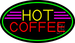 Red Coffee Yellow LED Neon Sign