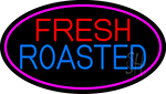 Red Fresh Roasted Coffee Cup Neon Sign