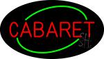 Round Cabaret Neon Sign
