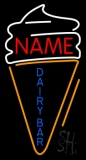 Custom Dairy Bar Neon Sign