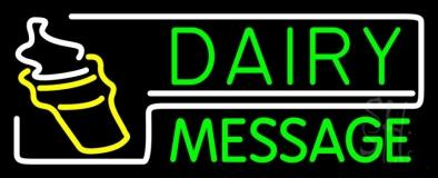 Custom Dairy Neon Sign