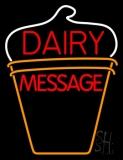 Custom Dairy On Logo Neon Sign