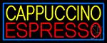 Yellow Cappuccino Red Espresso Neon Sign