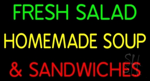 Salad & Soup Neon Signs