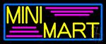 Yellow Mini Mart Neon Sign