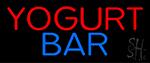 Yogurt Bar Neon Sign