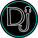 Dj Headphone LED Neon Sign