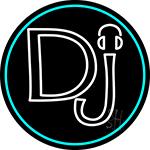 Dj Headphone Neon Sign