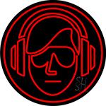 Dj Music Neon Sign
