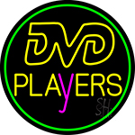 Dvd Players 2 Neon Sign