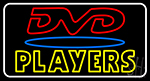 Dvd Players Neon Sign