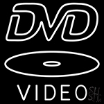 Dvd Video Dics Neon Sign