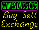 Games Dvds Cds Buy Sell Exchange 1 Neon Sign