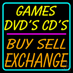 Games Dvds Cds Buy Sell Exchange 2 Neon Sign