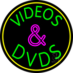 Green Videos And Dvds 2 Neon Sign