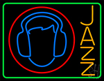 Jazz With Smiley 2 Neon Sign