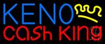 Keno Cash King 2 Neon Sign