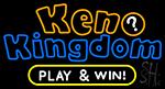 Keno Kingdom Neon Sign