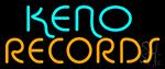Keno Records 21 4 Neon Sign