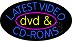 Latest Video Dvd And Cd Roms 2 Neon Sign