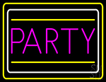 Party Border 1 Neon Sign
