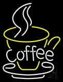 Coffee In Between Glass Neon Sign