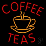 Coffee Teas LED Neon Sign