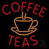 Coffee Teas Neon Sign