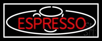 Double Stroke Espresso Neon Sign