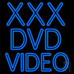 Xxx Dvd Video Neon Sign