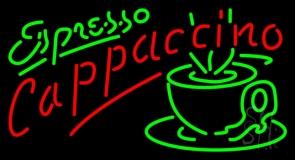 Espresso Cappuccino LED Neon Sign