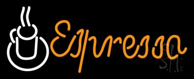 Espresso Coffee Cup Neon Sign