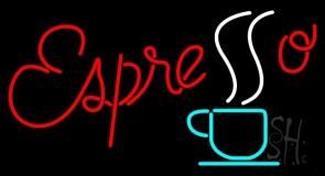 Red Espresso Neon Sign