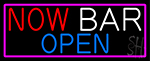 Now Bar Open Neon Sign