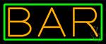 Orange Bar Neon Sign
