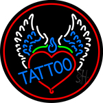 Piercing Tattoo Addiction Logo Neon Sign