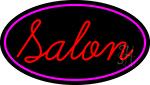 Red Salon Neon Sign