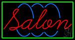 Red Salon Neon Sign