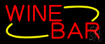 Red Wine Bar Neon Sign