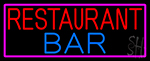 Restaurant Bar Neon Sign