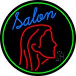 Salon Logo Neon Sign