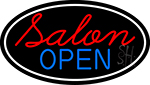 Salon Open Neon Sign