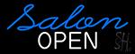 Salon Open Neon Sign