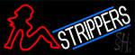 Strippers Neon Sign