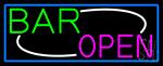 Stylish Bar Open Neon Sign
