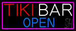 Tiki Bar Open Neon Sign