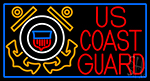 Us Coast Guard Logo Neon Sign