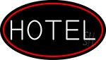 White Hotel Neon Sign