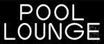 White Pool Lounge LED Neon Sign